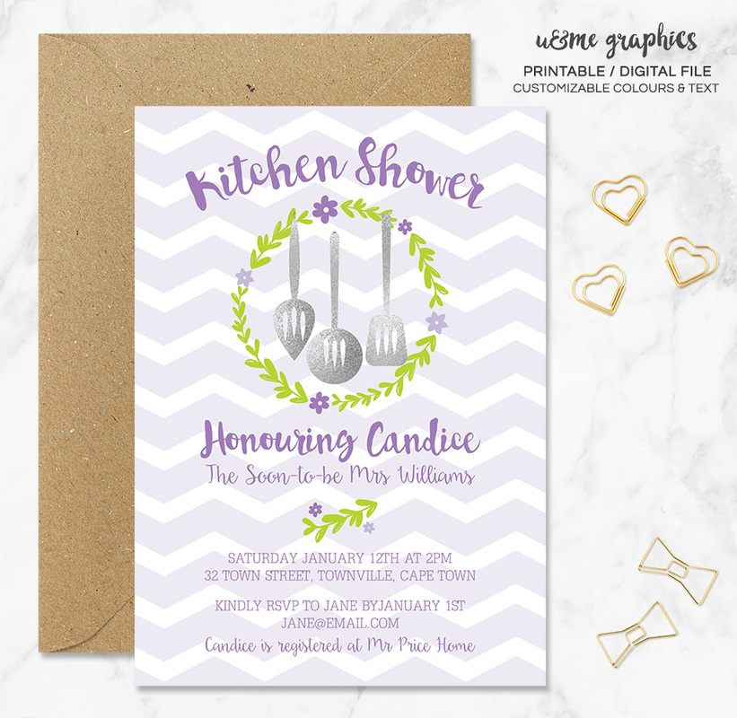 bridal shower invitations cape town ume graphics shop With cheap wedding invitations cape town
